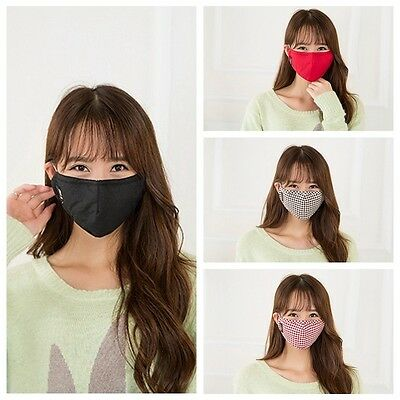 Anti Frog Mouth Mask Gauze Muffle Respirator PM 2.5 Dust Exhaust W carbon filter