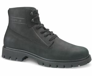 Leather Cat In Boots Grain basis Full Modern Black Mens n6xOr64t