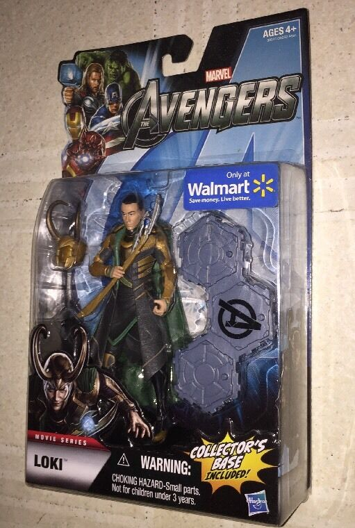 Marvel Legends Avengers Loki Movie Series Walmart Hasbro