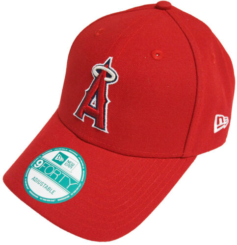 NEW ERA MLB Anaheim Angels the League velcroback Cap Berretto Basecap Mens NUOVO NEW