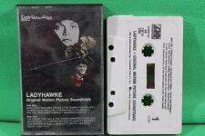 LadyHawke Original Motion Picture Soundtrack Cassette Tape Atlantic 7 81248-4-E