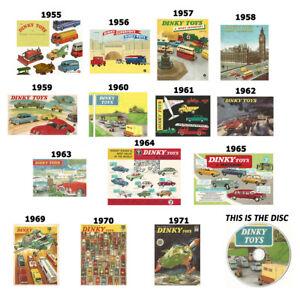 Dinky-1955-1956-1957-1958-1959-1960-1961-1962-1963-1964-1965-1969-1970-Catalogue