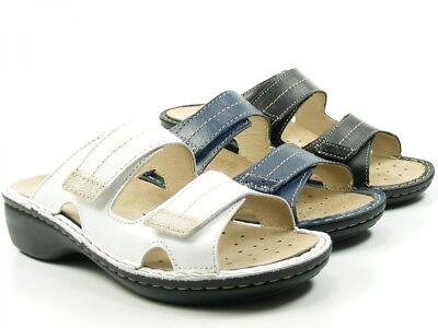 Rohde Mainz Damen Clogs Sandale Pantolette 5777 Wechselfußbett Schwarz