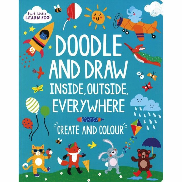 Start Little Learn Big Doodle and Draw Inside, O, Parragon, New