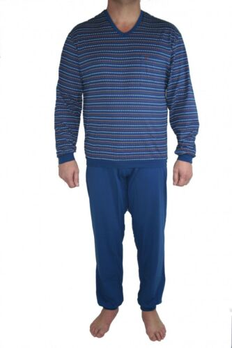 Ray 157010 Schiesser Pyjama Pyjama Bleu Seidensticker Cw04HgxqC
