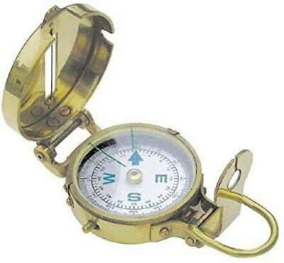 Kleiner Messing Kompass mit Deckel 3,5cm Durchmesser