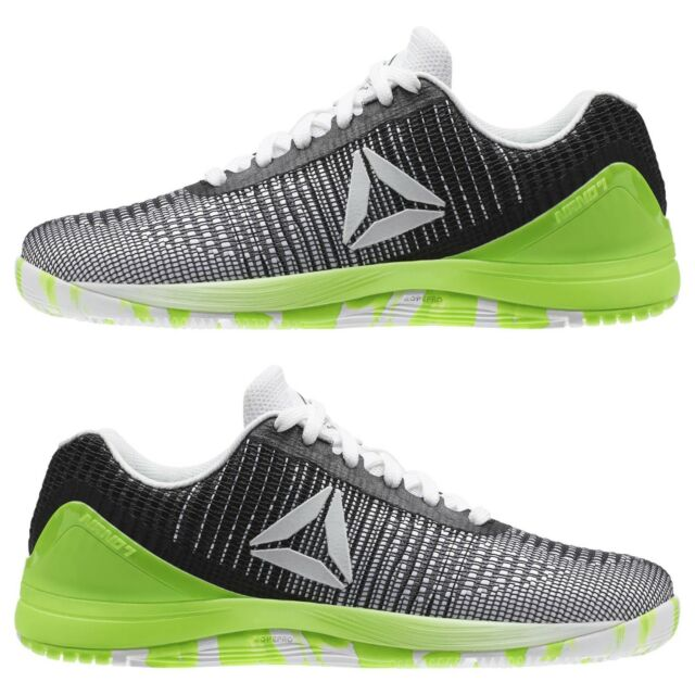 Women s Reebok CrossFit Nano 7 Weave Green Training Weightlifting Fitness  CM9516 3453a63d6