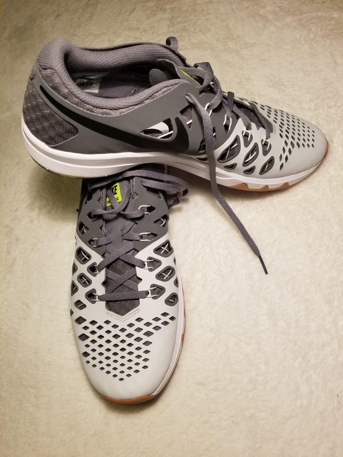 Nike Train Speed 4 Pure Platinum Grey 843937-005 Training Shoes Men's  Size 10