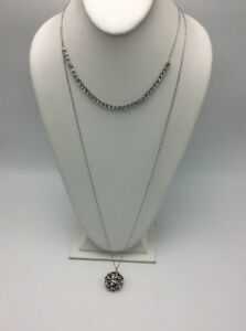 necklace pendant watch Fashion Jewelry $49.50  Ann Taylor Loft  gold tone beaded multi layer statement necklace A32