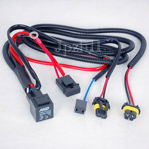 car hid xenon headlight h7 h7r bulbs relay fuse wire wiring image is loading car hid xenon headlight h7 h7r bulbs relay