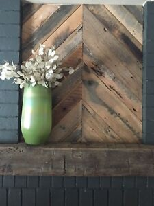 Image Is Loading Reclaimed American Oak Barn Wood Boards Wall Decor