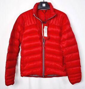 canada goose men's brookvale jacket red