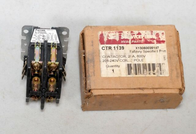 Service First Ctr1139 Contactor Furnas 45cg20ag X13060035