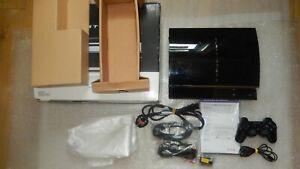Sony-PlayStation-3-60GB-PS3-60GB-modello-CECHA-00-Giappone-NTSC-firmware-3-55-FW-3-55