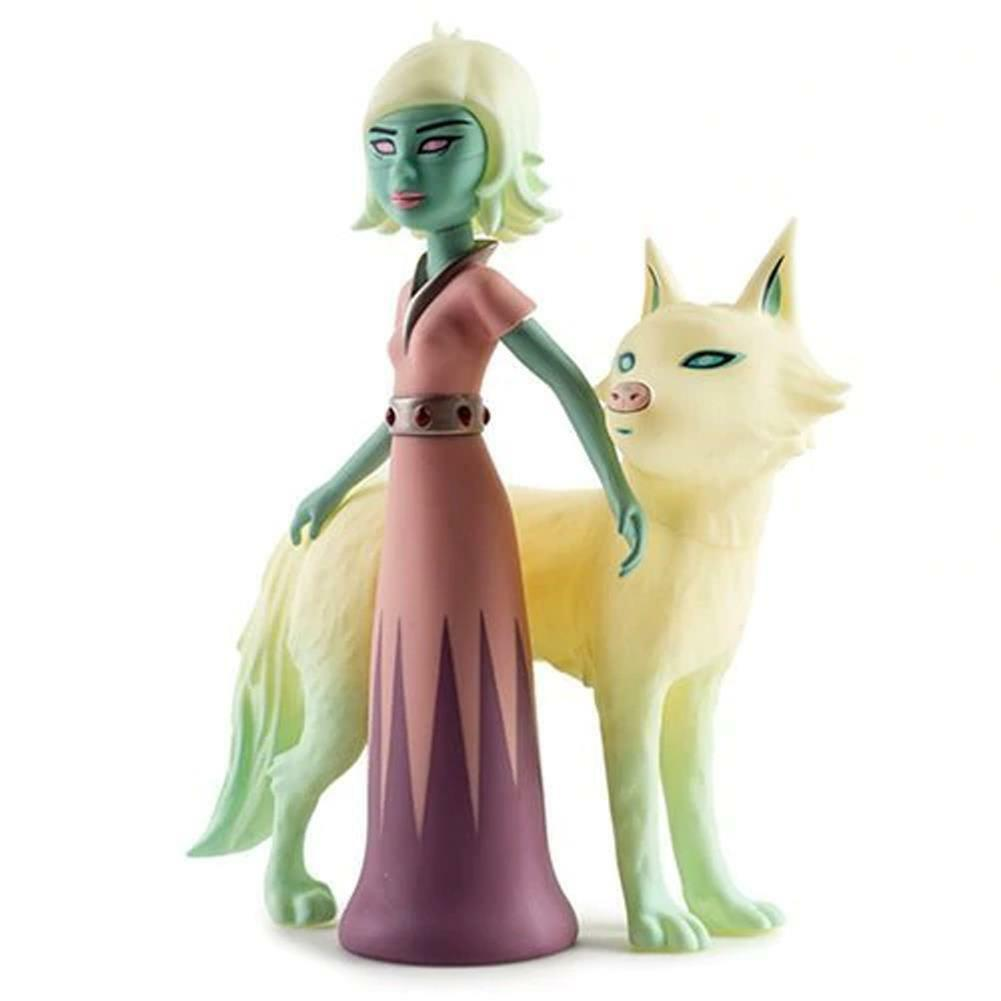 Astra & órbita 8  figura de vinilo de diseñador por artista Tara McPherson x Kidrobot