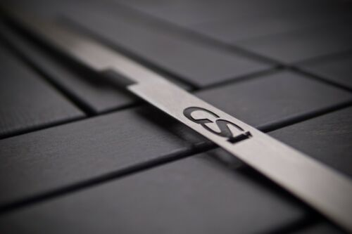 different logos Stainless Steel Plate for Irmscher Grill Astra G MK4