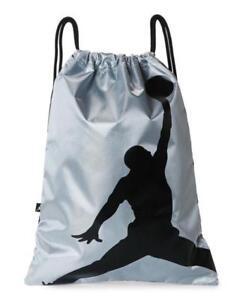 300ebca2e576 Image is loading Nike-Air-Jordan-Jumpman-ISO-Gymsack-Drawstring-Bag-