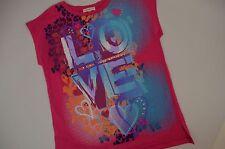 "Little Miss Matched Girls 12 ""Love"" Decal t-shirt top - New"