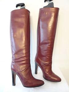 1982 Stiefel Vintage T.40 Italien Marmolada Schwarz