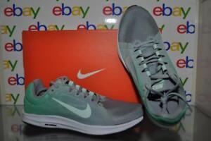 17ec12d308f Nike Women s Downshifter 8 Running Shoes 908994 003 Green Gray White ...