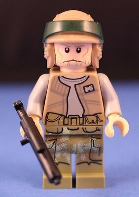New Genuine LEGO Endor Rebel Trooper 2 Minifig with Blaster Gun Star Wars 75094