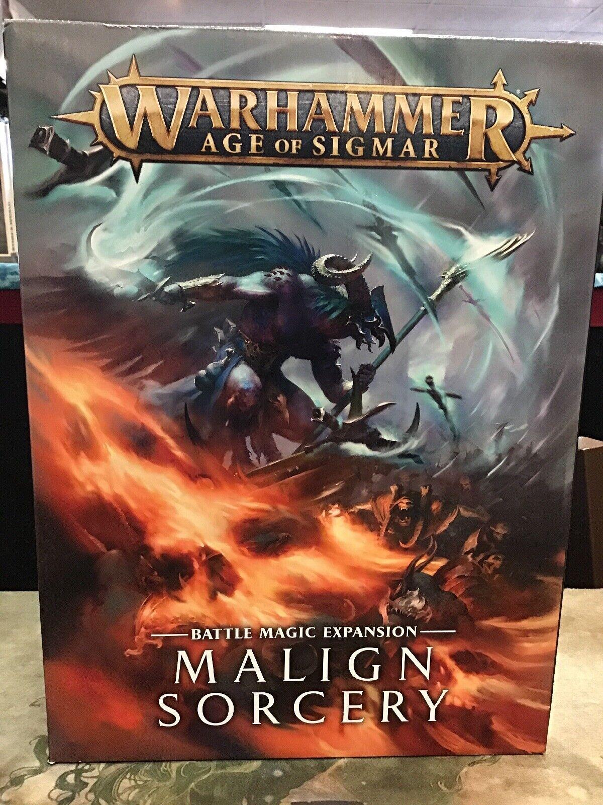Warhammer Age of Sigmar Malign Sorcery NIB