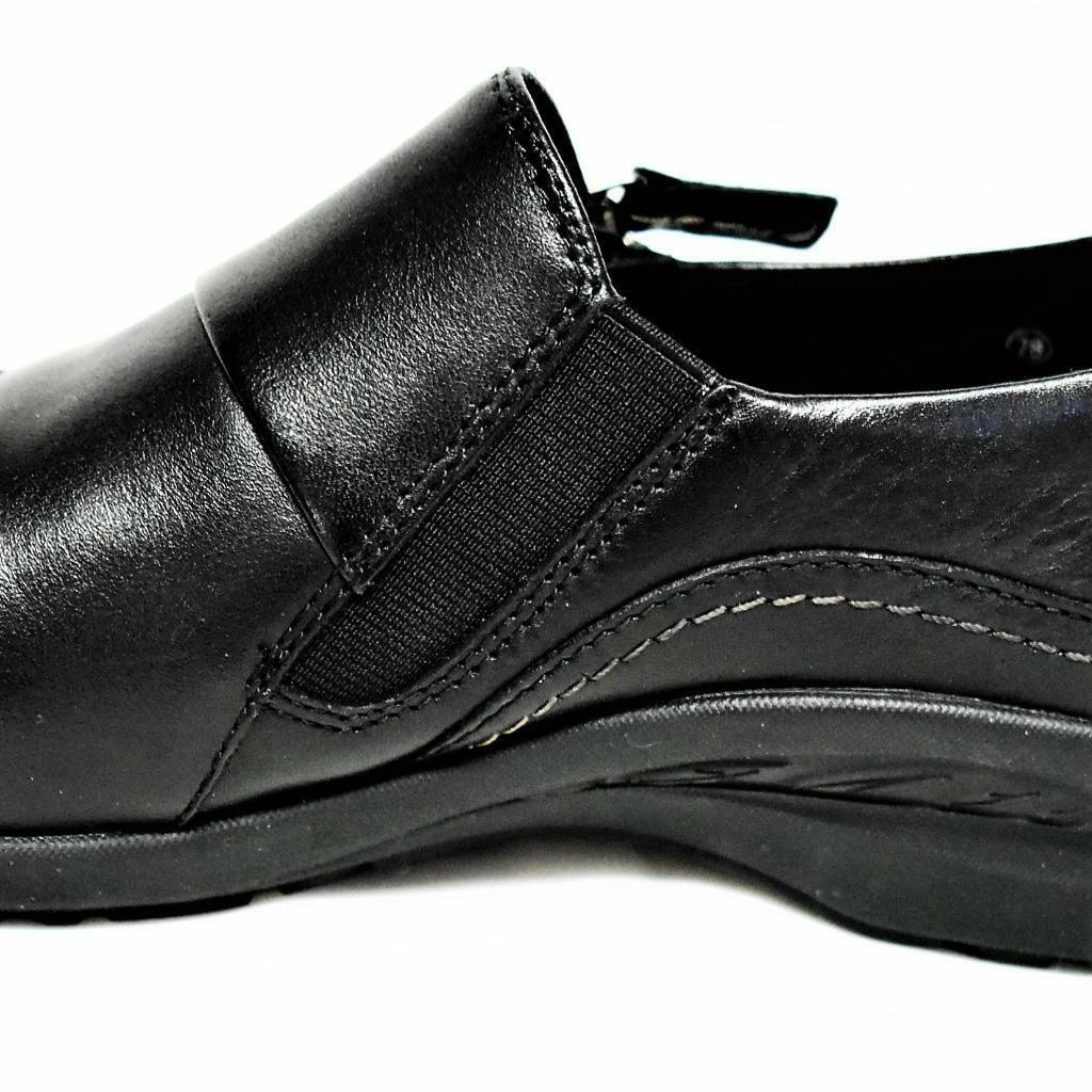 NEW Earth Earth Earth Anise Womens 9.5M Loafer shoes Black Leather Soft Step Comfort Flats 79a4c0