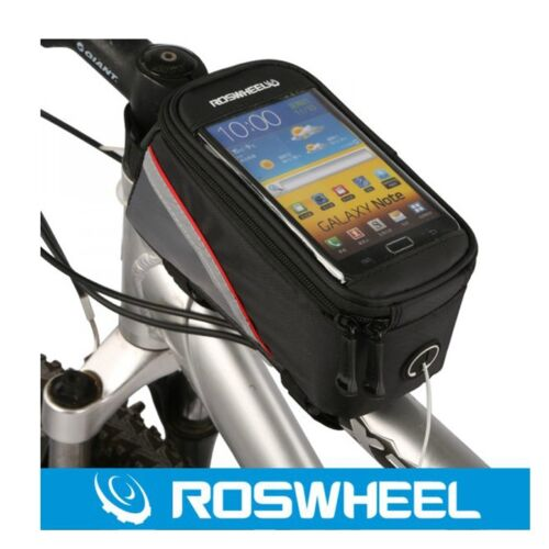 """Bicycle Smart Phone Mobile Case Bike Cycle Cycling Frame Front Tube Bag 4.8/"""""""