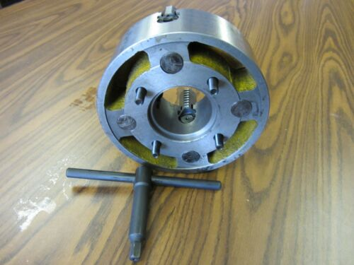 "10/"" 4-JAW LATHE CHUCK with independent  jaws #1004F0 NEW"