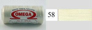Omega-Hilo-100-Nylon-Crochet-Thread-Yarn-Size-No-2-Nylon-Thread-Colors-58-67