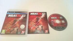 JUEGO-NBA-2K12-2012-2K-SONY-PLAYSTATION-3-PS3-ESPANA-BUEN-ESTADO