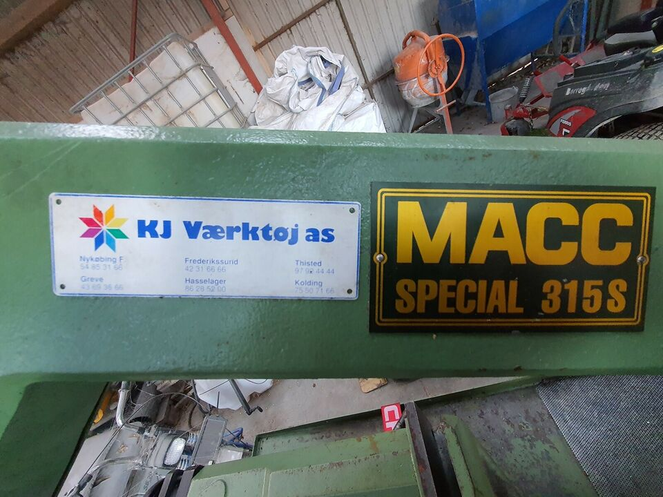 Båndsav, MACC Special 315S