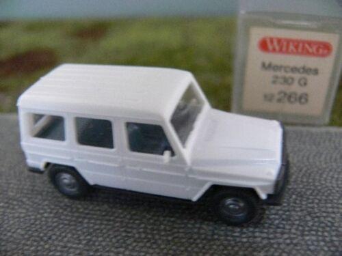 1//87 Wiking MB 230 G weiss 266 A