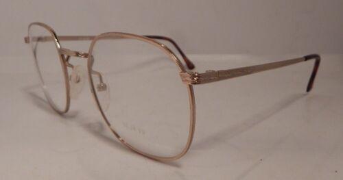 Vintage Deja Vu DV824 Gold 55//20 Men/'s Metal Eyeglass Frame NOS #282