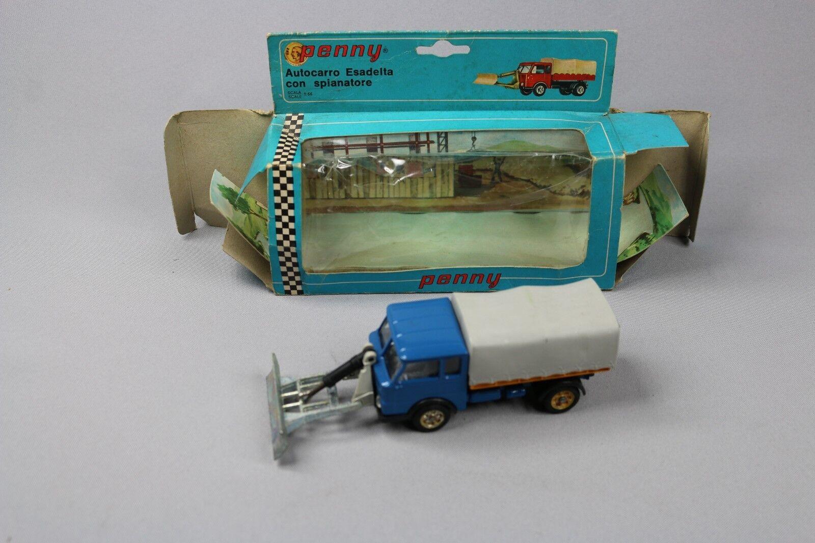 ZC1113 Penny Penny Penny 0 114 Camion Miniature 1 66 Esadelta Autocarro con Spianatore 78be72