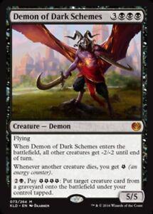 Demon-of-Dark-Schemes-x4-Magic-the-Gathering-4x-Kaladesh-mtg-card-lot