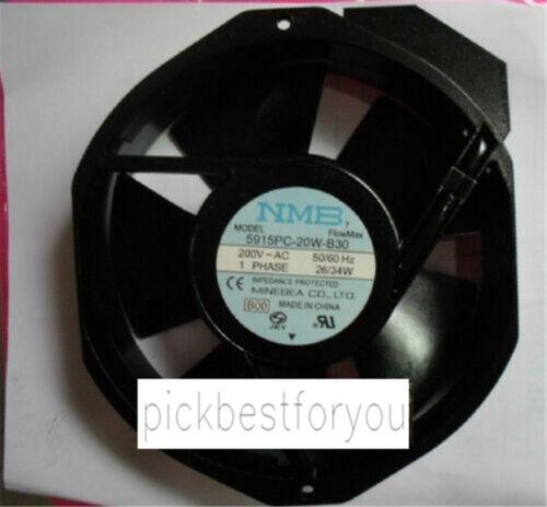 NMB 5915PC-20W-B30 Ventilateur AC200V 26//34W 0.236 A 172*150*38M 90 GARANTIE #M611C QL