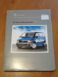 Mercedes-Service-Einfuehrungs-Mappe-neuer-Vito-Typ-638-Service-Beschreibung