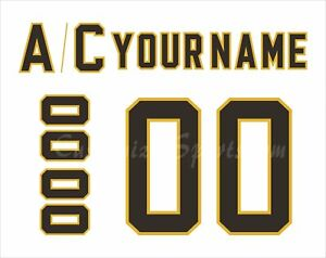 Details about NCAA Michigan Tech Huskies Customized Number Kit for 1995-98  White Hockey Jersey