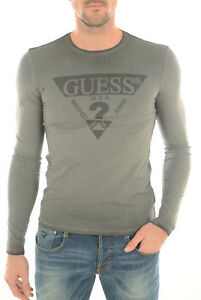 T shirt guess manches longues Homme M63I3