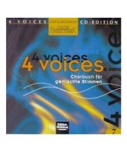 034-4-Voices-CD-Edition-la-Dal-Suono-Chorbibliothek-CD-7-1-Audiocd-034
