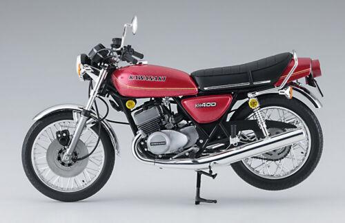 Hasegawa 21720 1//12 Scale Model Motorcycle Kit Kawasaki Triple KH-400 A3//A4
