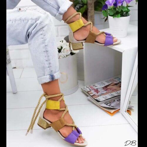 Women Beach Sandals Wedge Heel High Shoes Heel Comfy Platform Sandals 2.5-8.5