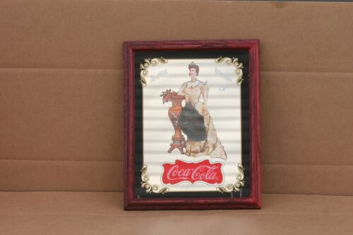 VINTAGE 1994 CocaCola LILLIAN NORDICA MIRROR RESTAURANT BAR SIGN