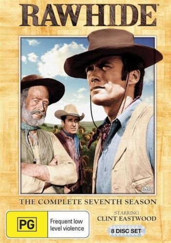 1 of 1 - Rawhide: Season 7 (DVD, 2011, 8-Disc Set), NEW REGION 4