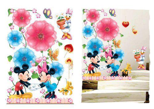 3 D xxl décoration Mikky souris 3 tapisserie murale sticker Disney