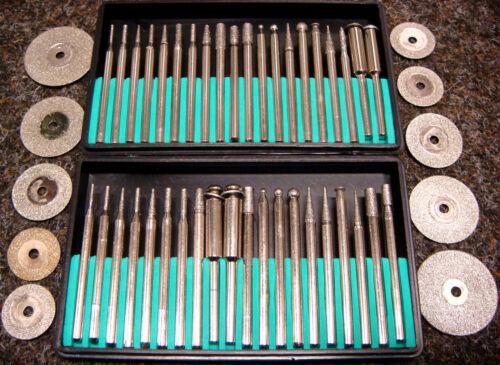 EF Diamant-Fräser u.Trennscheiben-Set 50-tlg