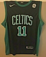 low priced 177b7 73117 Nike Boston Celtics Kyrie Irving Statement Jersey Black Ge ...