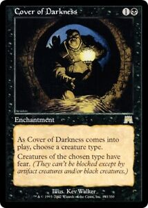 Onslaught Cover of Darkness MTG