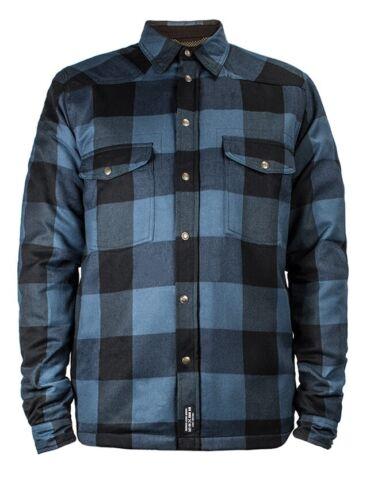John Doe Motorrad Hemd Lumberjack Shirt Blue